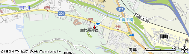 大分県津久見市上青江4631周辺の地図