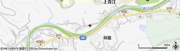 大分県津久見市上青江2301周辺の地図