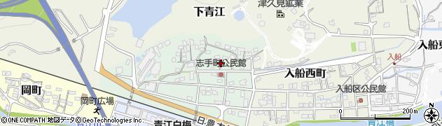 大分県津久見市志手町6周辺の地図