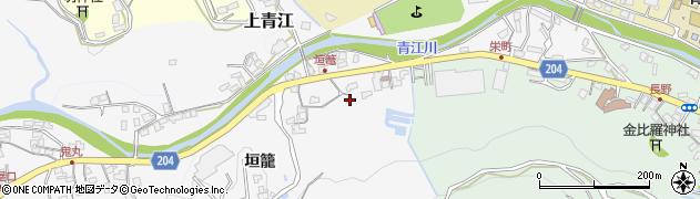 大分県津久見市上青江5009周辺の地図
