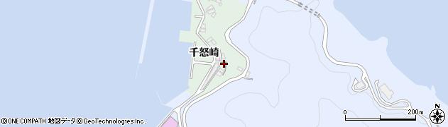 大分県津久見市千怒4872周辺の地図