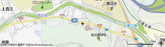 大分県津久見市上青江4881周辺の地図