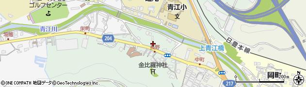 大分県津久見市上青江4906周辺の地図