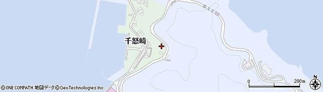 大分県津久見市千怒4865周辺の地図