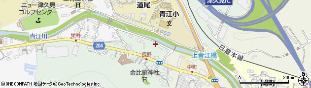 大分県津久見市上青江4620周辺の地図