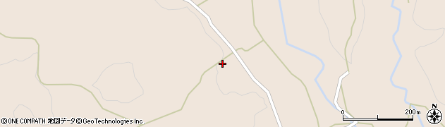大分県竹田市直入町大字長湯7376周辺の地図