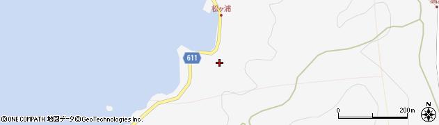 大分県津久見市四浦5738周辺の地図