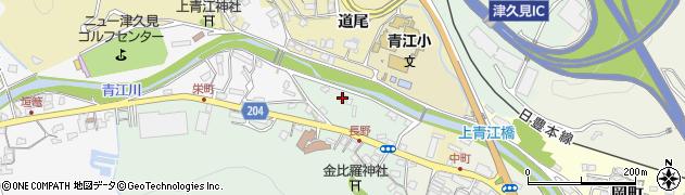 大分県津久見市上青江4915周辺の地図