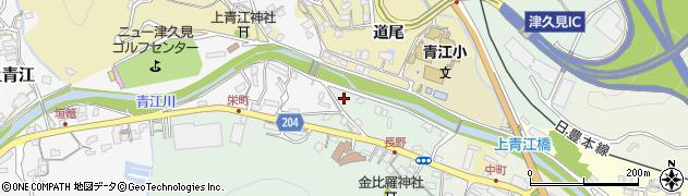 大分県津久見市上青江4924周辺の地図