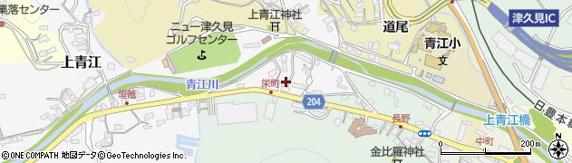 大分県津久見市上青江4940周辺の地図