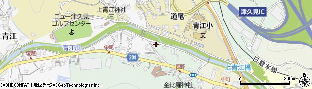 大分県津久見市上青江4959周辺の地図