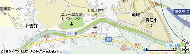 大分県津久見市上青江4939周辺の地図