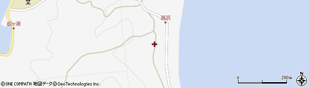 大分県津久見市四浦6268周辺の地図