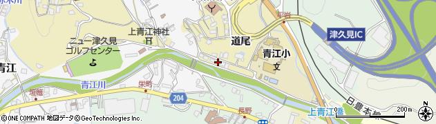 大分県津久見市上青江3514周辺の地図