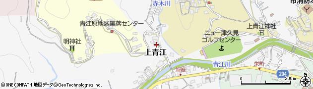 大分県津久見市上青江2451周辺の地図