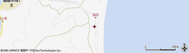 大分県津久見市四浦6316周辺の地図