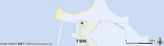 大分県津久見市千怒4960周辺の地図