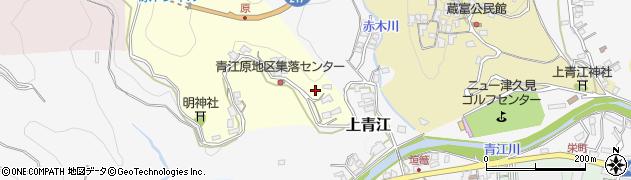 大分県津久見市上青江1982周辺の地図