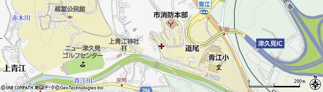 大分県津久見市上青江3497周辺の地図