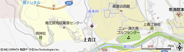 大分県津久見市上青江2463周辺の地図