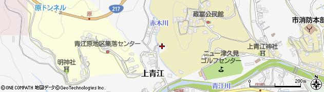 大分県津久見市上青江3035周辺の地図