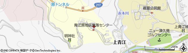大分県津久見市上青江1956周辺の地図
