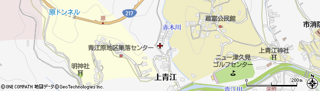 大分県津久見市上青江2467周辺の地図