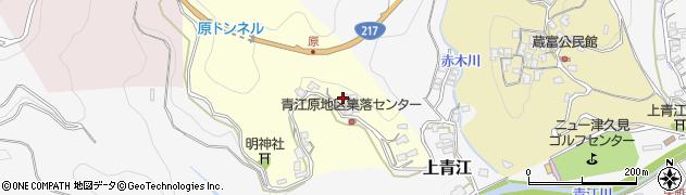 大分県津久見市上青江1949周辺の地図