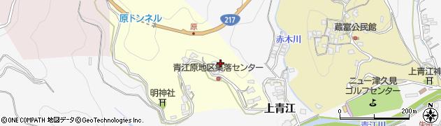 大分県津久見市上青江1953周辺の地図