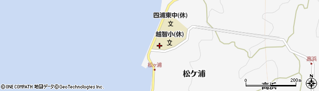 大分県津久見市四浦5903周辺の地図