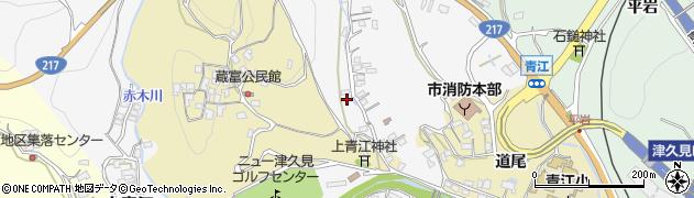 大分県津久見市上青江3313周辺の地図