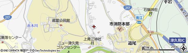大分県津久見市上青江3306周辺の地図