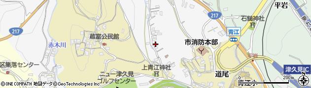 大分県津久見市上青江3319周辺の地図