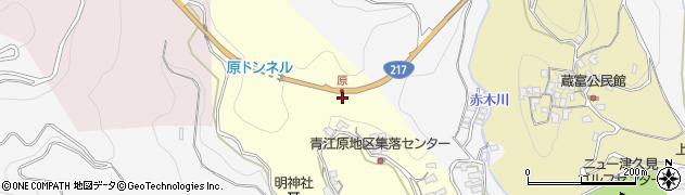 大分県津久見市上青江1940周辺の地図