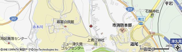大分県津久見市上青江3314周辺の地図