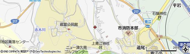 大分県津久見市上青江3317周辺の地図