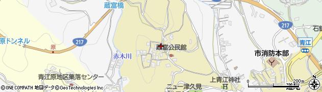 大分県津久見市上青江3214周辺の地図