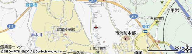 大分県津久見市上青江3331周辺の地図
