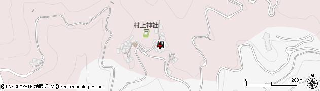 大分県津久見市上青江979周辺の地図