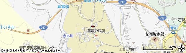 大分県津久見市上青江3215周辺の地図