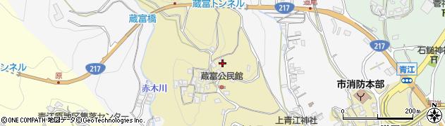 大分県津久見市上青江2945周辺の地図