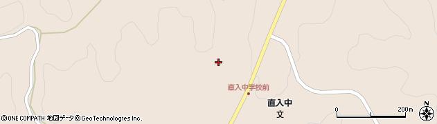 大分県竹田市直入町大字長湯冬田周辺の地図