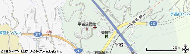 大分県津久見市上青江4183周辺の地図