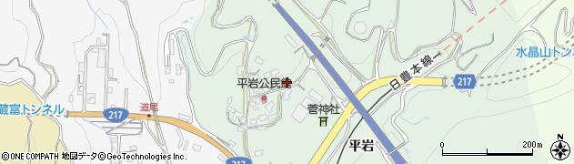大分県津久見市上青江4011周辺の地図