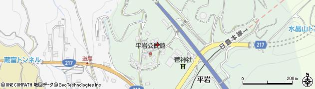 大分県津久見市上青江4015周辺の地図