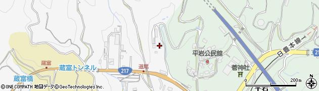 大分県津久見市上青江3748周辺の地図