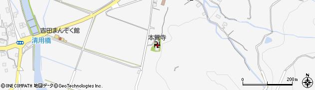 本覚寺周辺の地図