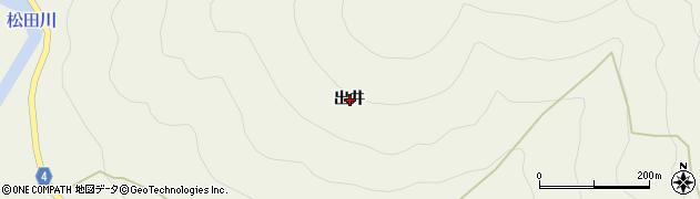 高知県宿毛市橋上町出井周辺の地図