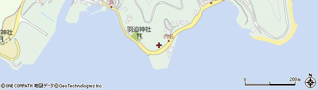 大分県津久見市堅浦1112周辺の地図