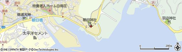 大分県津久見市徳浦宮町13周辺の地図
